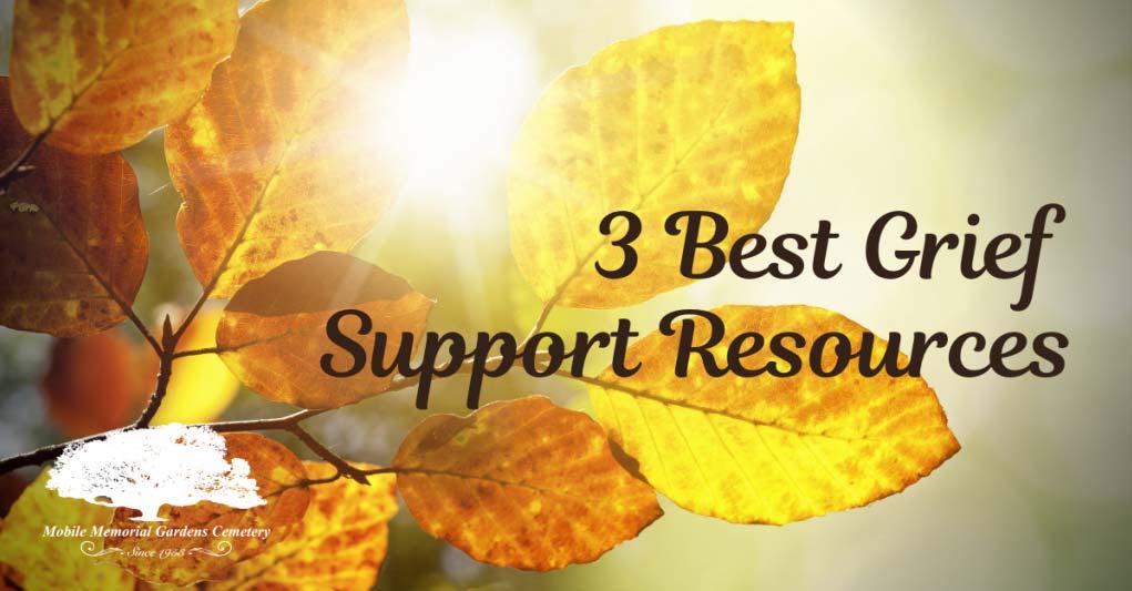3 Best Grief Support Resources