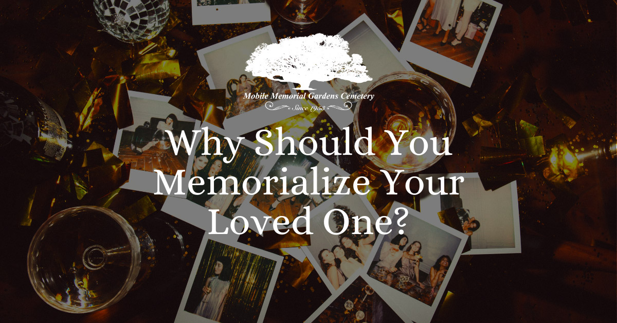 Memorialize Your loved One