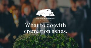 What to do with cremation ashes