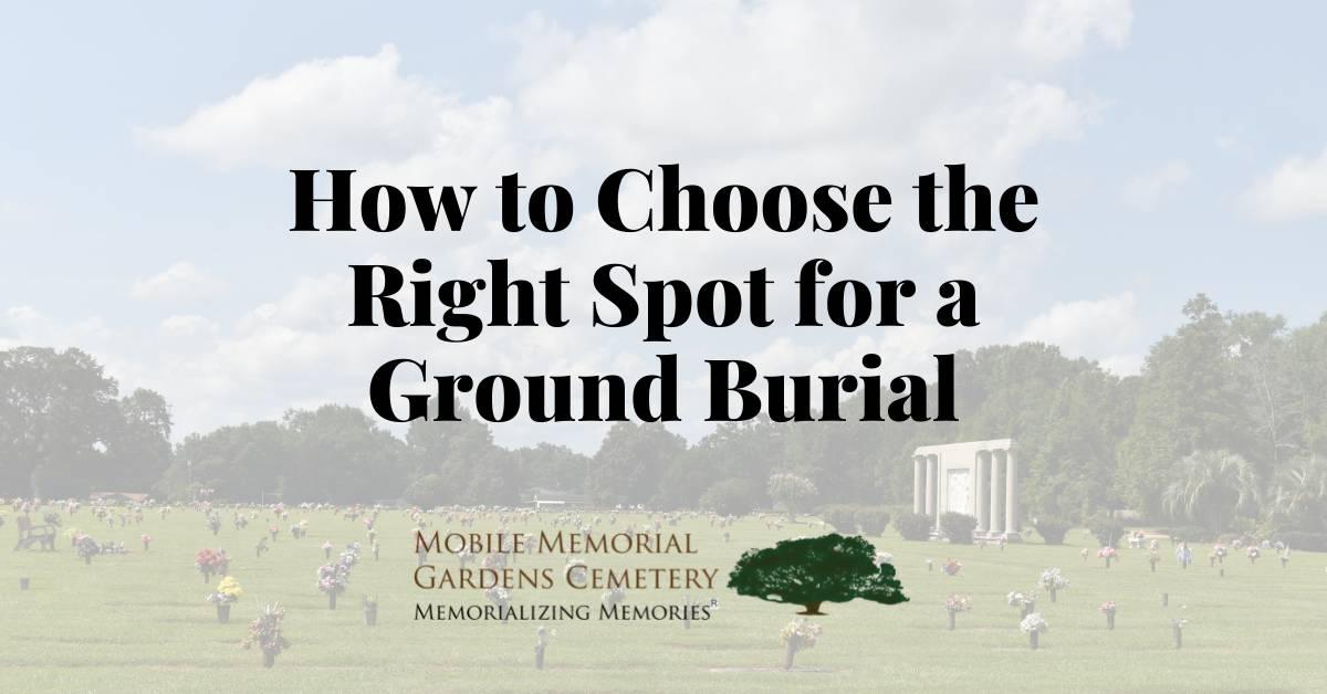 Ground Burial
