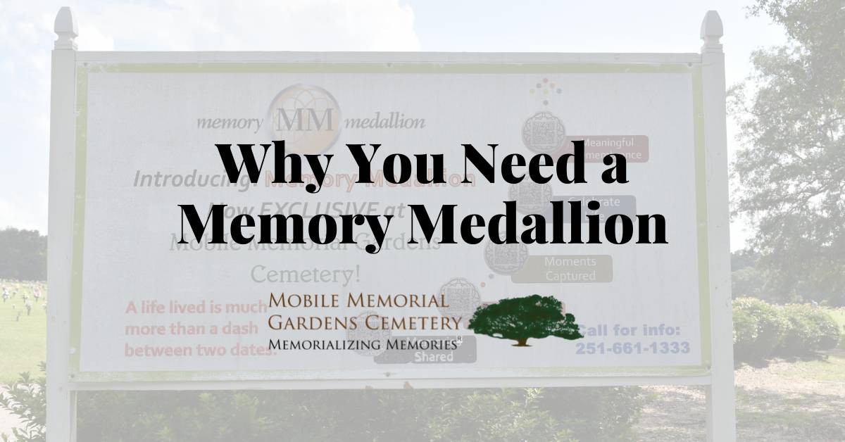 Why You Need a Memory Medallion